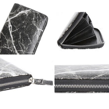 marble design trendy wallet black wallet edgability detail view