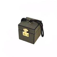 box bag studded bag wristlet edgy fashion classy bag edgability angle view