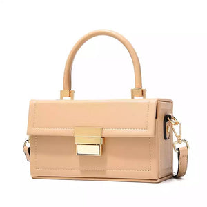 beige formal micro mini box bag edgability full view