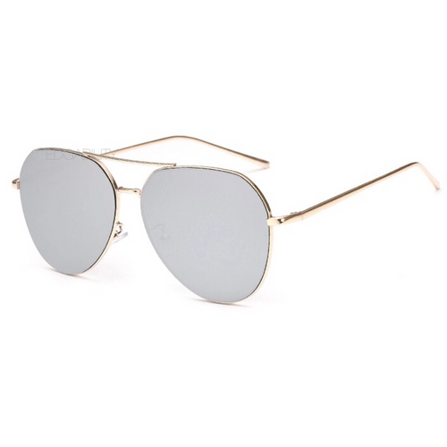 quay style silver sunglasses angle view edgability
