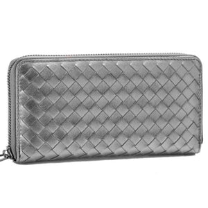 woven silver wallet trendy accessories edgability