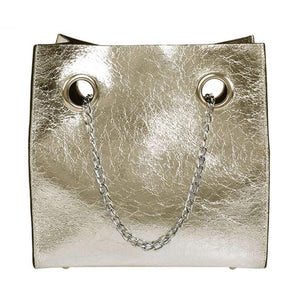 metallic bag sling bag edgy fashion edgability