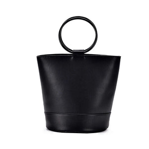 bucket bag black bag sling bag edgability