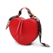 red hearts box bag edgability angle view