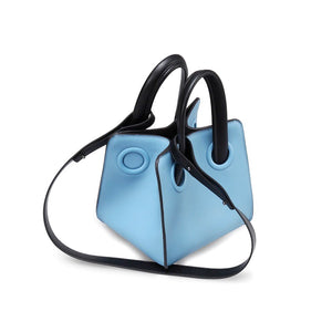 blue bag bucket bag mini bag sling bag edgability