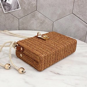 basket clutch bag brown box bag edgability angle view