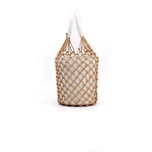 bucket bag basket drawstring bag edgability side view