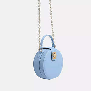 blue round box bag edgy edgability side view