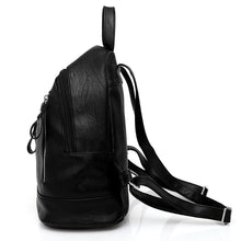 black backpack jacket backpack edgability side view