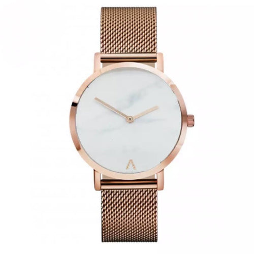 marble watch rose gold watch edgability