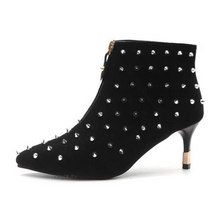 black boots studded boots edgability