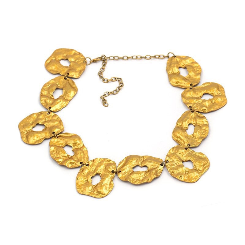 egyptian gold statement necklace edgability