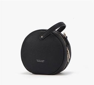 black bag round bag sling bag edgability front view