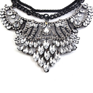 statement necklace layered necklace edgability detail view