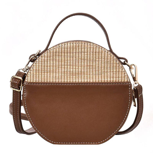 rattan bag brown bag round bag edgability