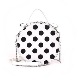 polka dots bag box bag round bag edgability