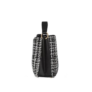 classic tweed bucket bag edgability side view