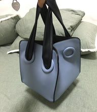 blue bag bucket bag mini bag sling bag edgability size view