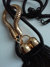 long black necklace black jewelry edgability detail view