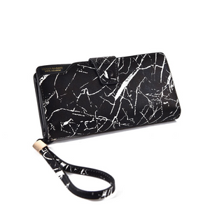 marble black wallet edgability angle view