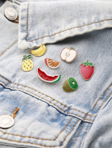 fruits brooch set model view edgability