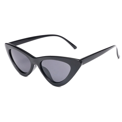 cat eye sunglasses black sunglasses edgability