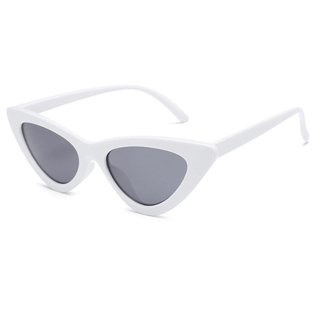 cat eye sunglasses white sunglasses edgability