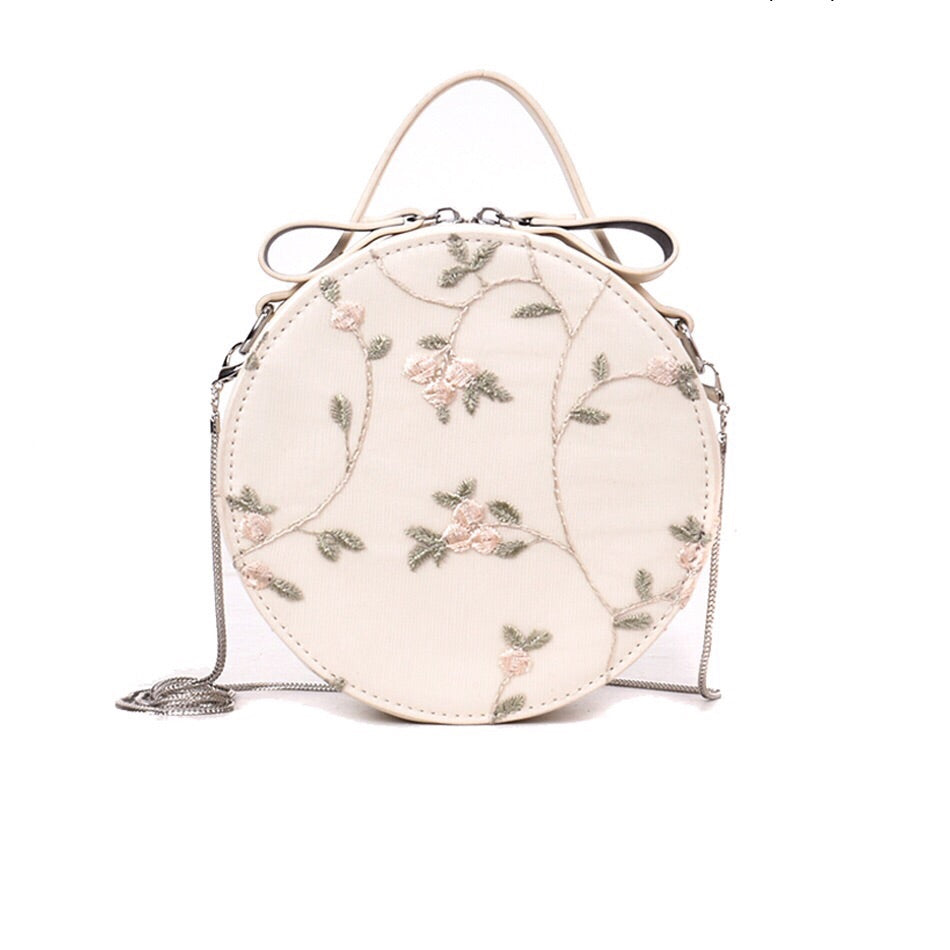 embroidered bag box bag round bag edgability