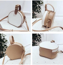 box bag round bag vintage bag with buckle edgability angle view