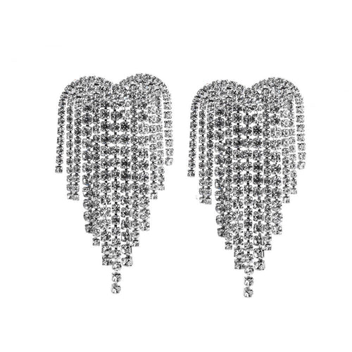 crystal heart diamonte statement earrings edgability