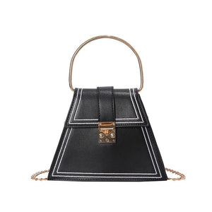 black bag sling bag triangle bag edgability