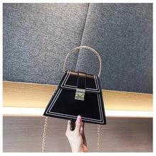 black bag sling bag triangle bag edgability size view