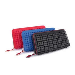 spiked wallet rivets studded wallet edgability