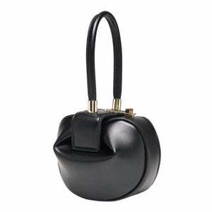 black bag round bag clutch bag sling bag edgability