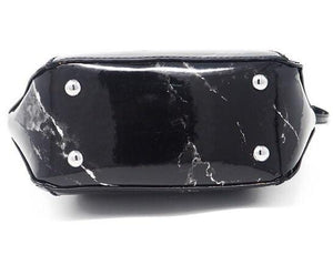 marble bag black bag sling bag edgability bottom view
