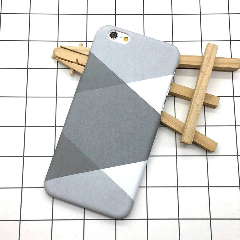 graphic geometry in grey iphone case edgability
