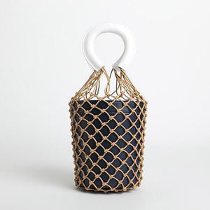 bucket bag basket drawstring bag travel style edgability
