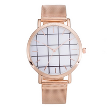 grid metallic rose gold straps rose gold watch edgability
