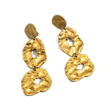 egyptian gold statement earrings edgability