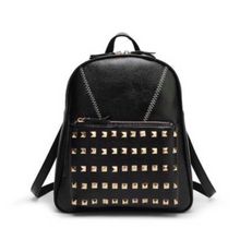 studded black backpack edgability