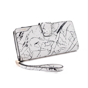 marble white wallet edgability angle view