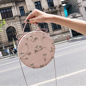 floral bag box bag round bag edgability front view