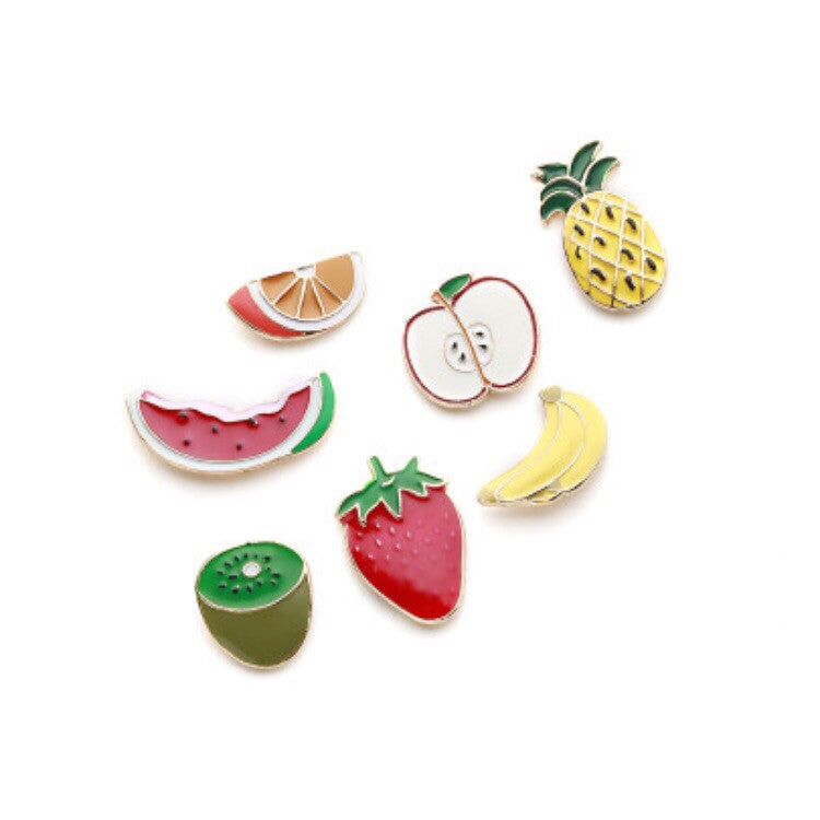 fruits brooch set front view edgability