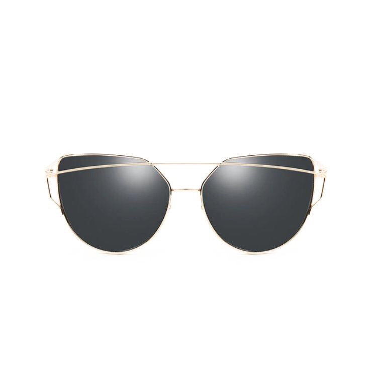 gold double frames black sunglasses edgability