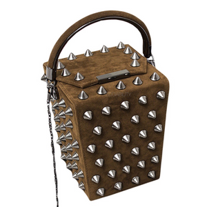 rivets studded bag box bag edgability