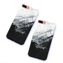 black and white matte iphone 7 case edgability