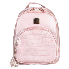 croc embossed mini backpack edgability