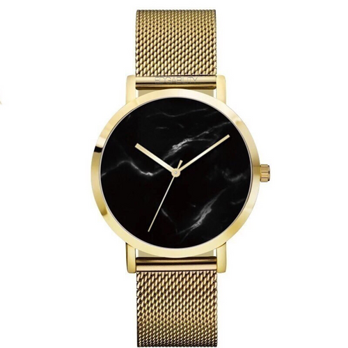 metallic gold marble design watch edgability