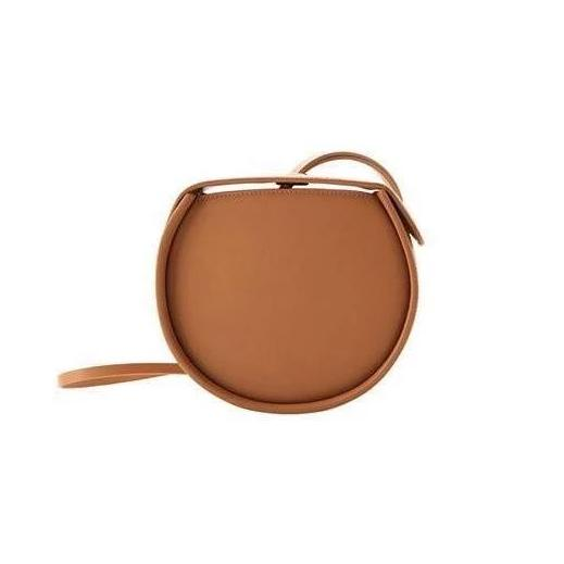 box bag brown bag classy bag wristlet edgability front view