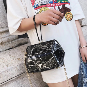 marble bag black bag sling bag edgability model view